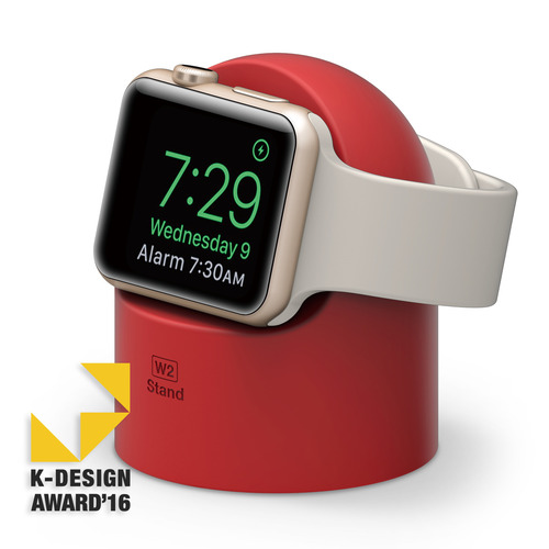 W2 Stand for Apple watch (1,2,3 세대 공용)- Red