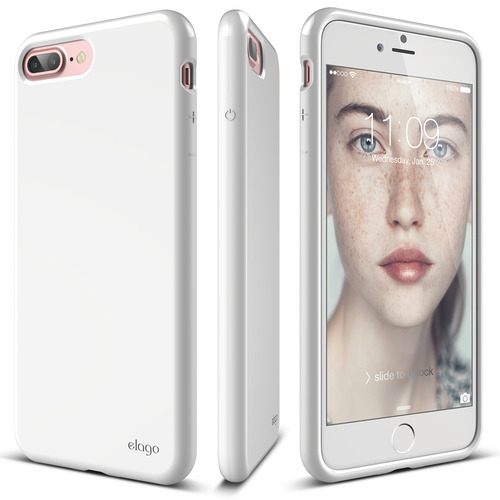 S7P(플러스) Cushion case for iPhone 8/7 Plus _(필름포함) -White