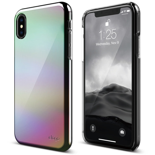 SX Slim Fit 2 case for iPhone X - Rain Bow