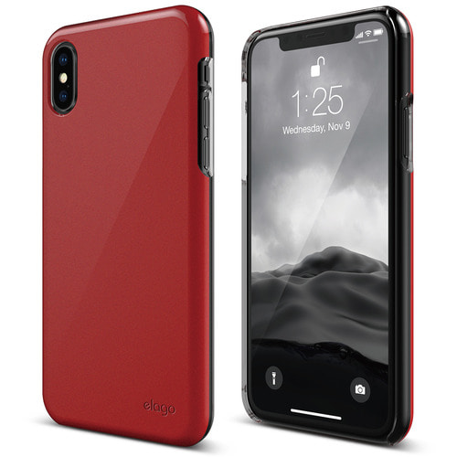 SX Slim Fit 2 case for iPhone X - Pearl Red