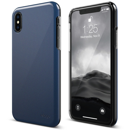 SX Slim Fit 2 case for iPhone X - Pearl Blue