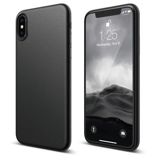 SX Inner Core case for iPhone X - Black