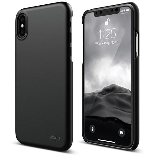 SX Slim Fit 2 case for iPhone X - Black (무광)