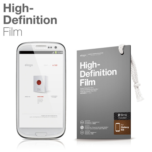 High Definition Film for Galaxy S3(3G/LTE)