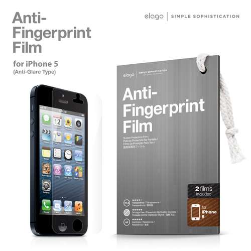 Anti-Fingerprint Film (for iPhone 5/5S)