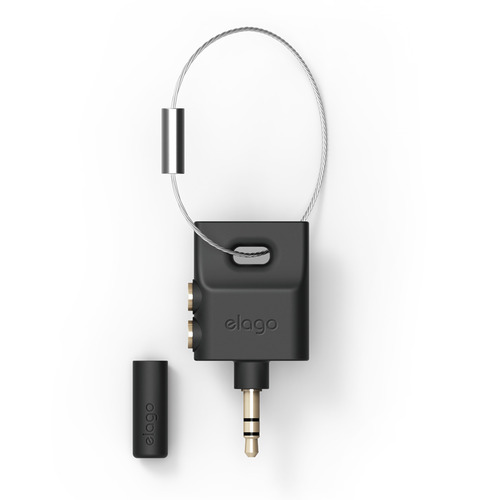 Keyring splitter- Black